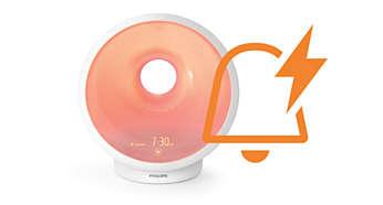PowerWake-alarm utformet for å vekke deg i tide