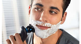 Use dry or with shaving cream or gel for extra protection
