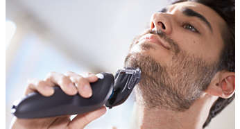 Trim your beard with ease and precision