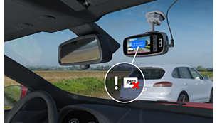 如果 SD 卡无法正常使用,相机会发出提醒