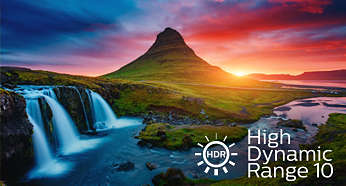 HDR 10 delivers more detail and captivating colors