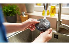 Umývateľný filter zaisťuje dlhodobejšiu vysokú rýchlosť vzduchu*