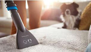 Meubelmondstuk voor het reinigen van banken, kussens en het opzuigen van huisdierhaar