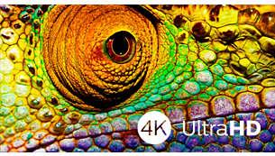 La technologie 4K UHD donne à votre expérience télévisuelle une toute nouvelle dimension