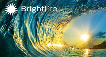 Stunning brightness and contrast with BrightPro