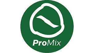 Technologie ProMix pour un mixage rapide et plus homogène
