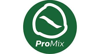 Technologia ProMix pozwala na szybkie i dokładne mieszanie składników