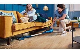 Dosiahnite rýchlo úplne všade, dokonca aj pod nízky nábytok
