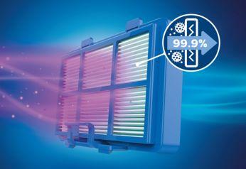 Фильтр Ultra-Hygiene задерживает более 99% мелкой пыли
