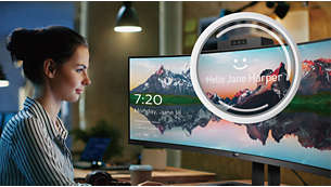 Securely sign in with pop-up webcam with Windows Hello™
