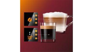 """Reguliuokite kavos aromato stiprumą ir jos kiekį per """"My Coffee Choice"""""""