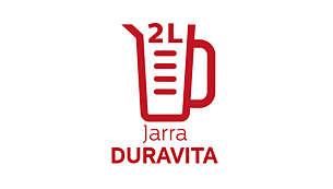 Copo Duravita de 2L: leve e 20 vezes mais resistente