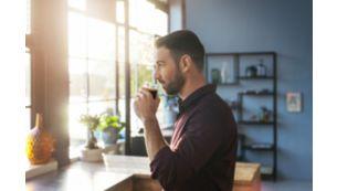 Täiuslik temperatuur, aroom ja kreem iga kohvijoogi jaoks*