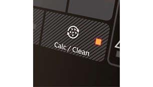Alarme automático de descalcificação para sua comodidade