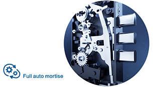 Thân khóa hoàn toàn tự động được cấp bằng sáng chế: Mở khóa và mở cửa một lần