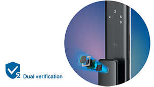 Dual verification unlocking: Security is never forgotten