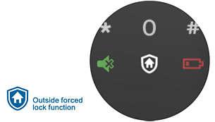 Nút khóa chế độ báo động khi mở khóa từ bên trong: Báo động tức thì khi mở khóa từ bên trong