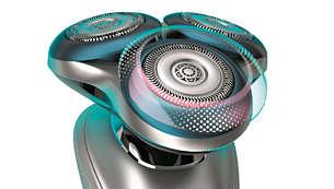 防敏微珠保護環配備微珠順滑粒子,剃鬚時更順滑流暢