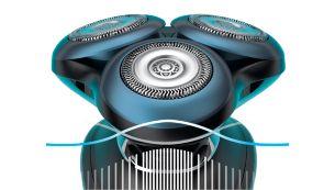 Датчик BeardAdapt для эффективного бритья даже густых волос