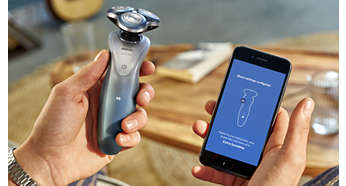 Sensitive Shave Settings customized to your skin