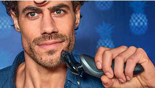 Estilizador da barba SmartClick com 5regulações de comprimento
