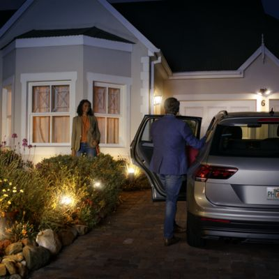 Set your lights to welcome you home