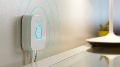 Smart home automation hub: Hue Bridge