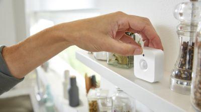 Monta il sensore di movimento dove vuoi