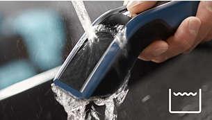 100 % pralno** za enostavno in hitro čiščenje