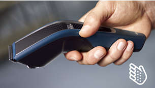 Ergonomic handle for more comfort and control