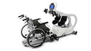 Retirez le siège pour permettre un accès direct en fauteuil roulant
