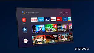 Android TV. Sade ve akıllı.