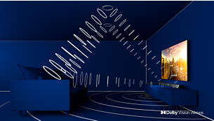 Dolby Vision en Dolby Atmos. Beeld en geluid in bioscoopkwaliteit.