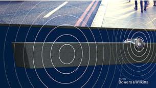 Performanţă audio excepţională de la Bowers & Wilkins.