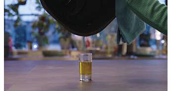 Tão estaladiço como quando frita em muito óleo, mas até 90% menos de gordura*