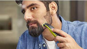 No afeita demasiado cerca, lo que mantiene tu piel con una sensación suave