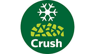 Crush ice and other hard ingredients