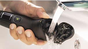 Nút mở trong một lần chạm cho phép vệ sinh dễ dàng