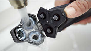 Open met één druk op de knop om eenvoudig te reinigen