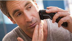60minut bezdrátového holení po hodině nabíjení