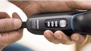 5minute quick charge gives enough power for 1full shave