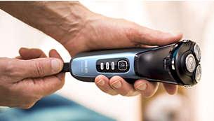 Швидке заряджання протягом 5хвилин забезпечує достатньо потужності для 1повного гоління