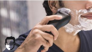 Aquatec for a refreshing wet or convenient dry shave
