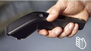 Mâner ergonomic pentru mai mult confort şi control