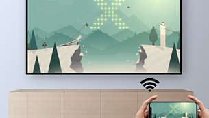 Wi-Fi screen mirroring for smart sharing