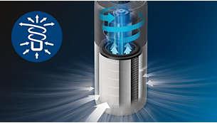 3D oro cirkuliavimas, kad būtų valoma greitai ir veiksmingai