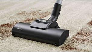 Super Turbo четка, идеална за дълбоко почистване на косми и пух от домашни любимци