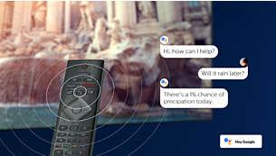 Google Assistant ควบคุมทีวีด้วยเสียงของคุณ