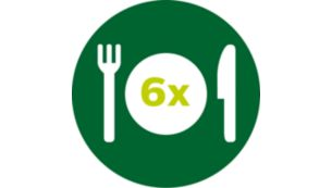 XXL family size fits a whole chicken or 1.4kg of fries