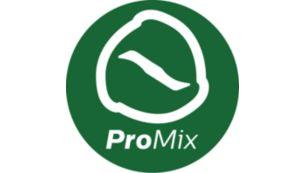 ProMix uzlabotā blendēšanas tehnoloģija